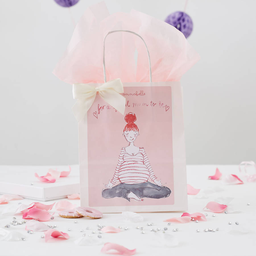 Personalised baby shower gift bag by caragh susan personalised baby shower gift bag negle Gallery