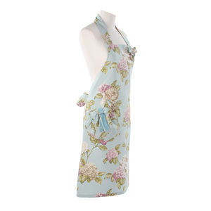 Blue Floral Pinny - aprons
