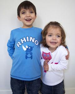 Rhino T Shirt - t-shirts & tops