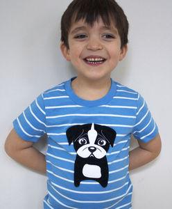 Puppy Pug T Shirt
