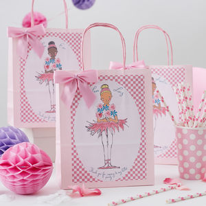 Ballerina Personalised Party Bag - gift bags & boxes
