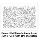 Fill Me In Party Poster 'Demo'
