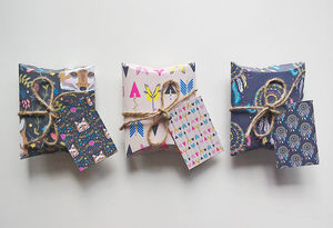 Wild And Free Diy Pillow Gift Boxes Large And Small