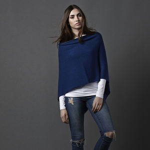 Cashmere Poncho Multi Way - pashminas & wraps