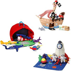 Imaginative Soft Play Sets: Space, Pirates Or Planes - toys & games