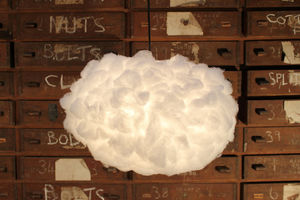 Cloud Light Shade - living room
