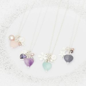 Liberty Create Your Own Personlised Charm Necklace - birthstone jewellery gifts