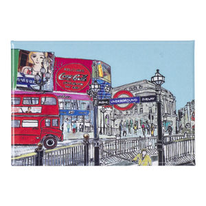 London Piccadilly Circus Fridge Magnet - storage & organising
