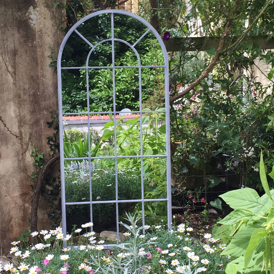 Mirror In Garden: Outdoor Arched Window Mirror By All Things Brighton