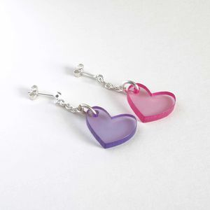 Acrylic Charm Earrings
