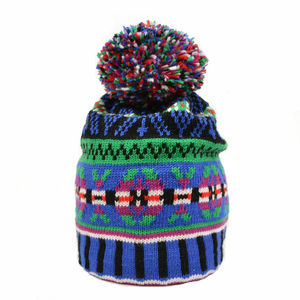 Cormack Glory Boy Merino Wool Beanie Bleen - hats, scarves & gloves