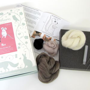 Needle Felting Craft Kit Monthly Subscription Club - subscription gifts