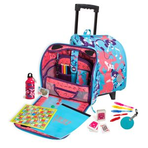 Children's Music Design Backpack On Wheels