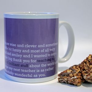 'Lots Of Brilliant Stuff' Teacher Mug
