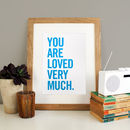 Personalised Quote Print