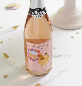 Personalised Prosecco Sparkling Wine For Hen Parties